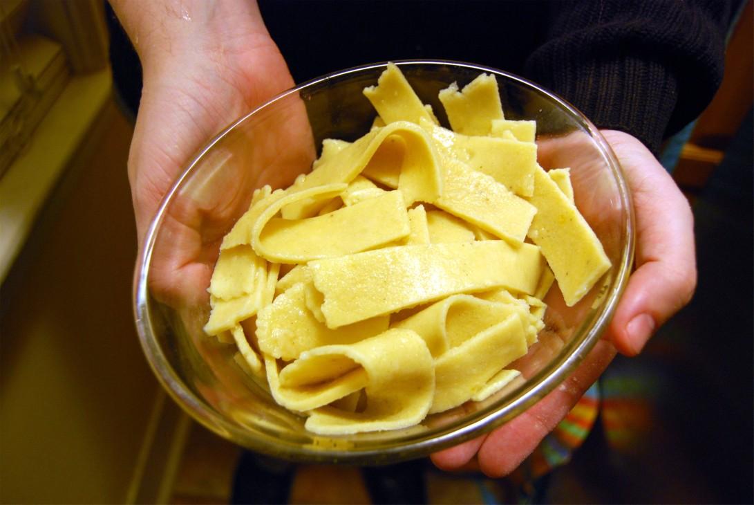 Cooked GF Handmade Pasta