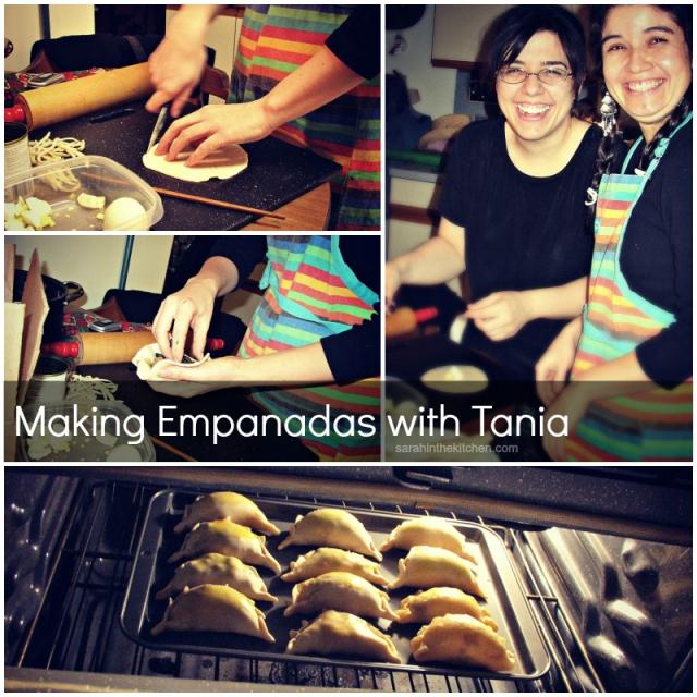 Tania Empanada Collage Words