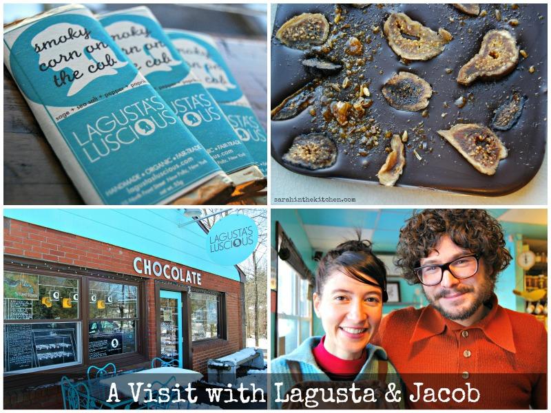 Lagusta Choco Collage Text