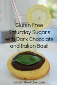 Saturday Sugar Choco Basil Lemonade