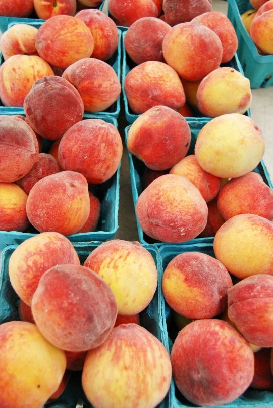 Farmer Market Peaches V