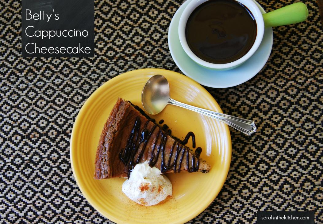 Betty Rosbottom Cappuccino Cheesecake