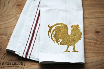 Anselblue Rooster Stripe