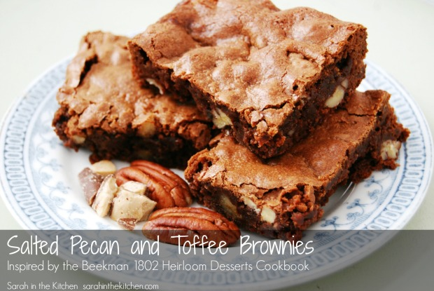 Beekman Brownie Inspiration