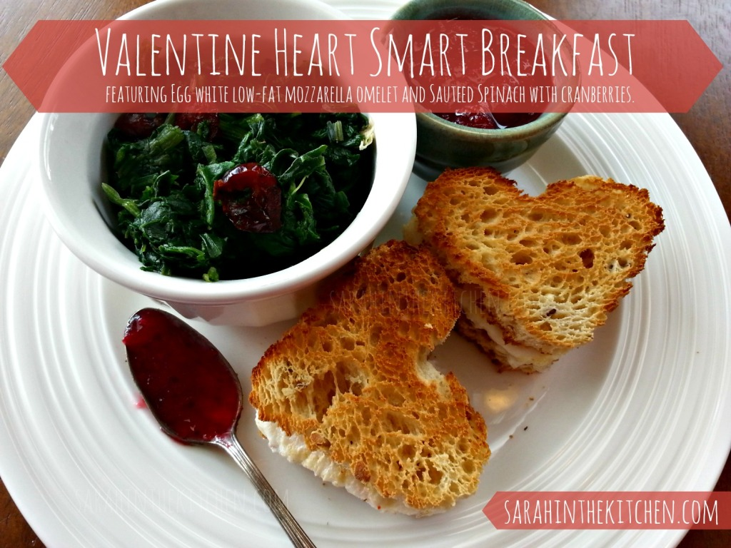 Gluten Free Heart Smart Valentine Breakfast