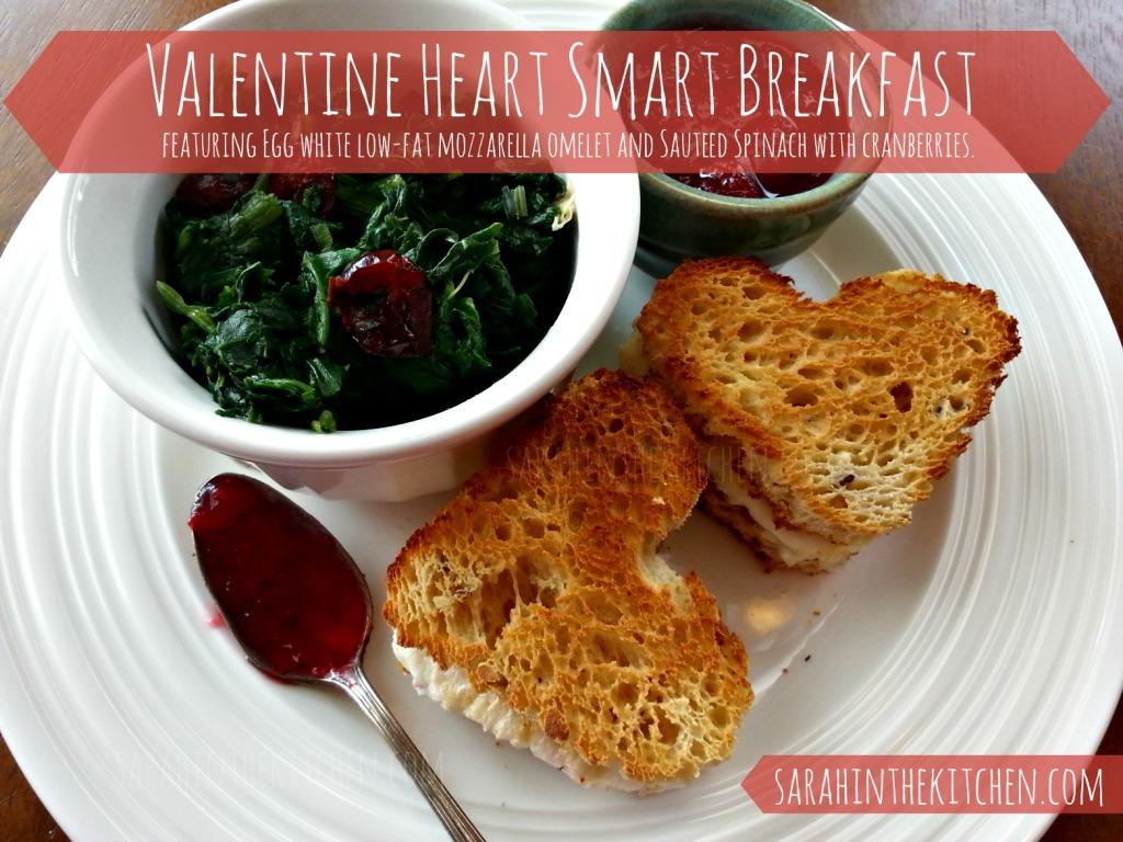 Gluten Free Heart Smart Valentine Breakfast