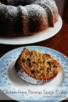 Gluten Free Parsnip Cake